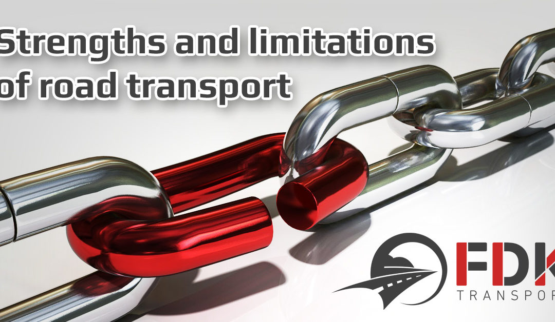 The strengths and limitations of road transport